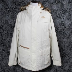 The North Face White Parka